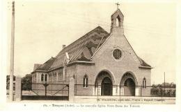 CPA - TROYES - La Nouvelle Eglise Notre Dame Des Trévois - Troyes