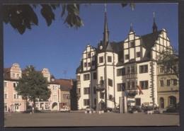 Saalfeld - Markt Mit Rathaus-  NOT  Used  See The 2  Scans For Condition. ( Originalscan !!! ) - Saalfeld