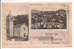 ITALIE - Saluti Da RIANA ( PARME) Rare - Parma