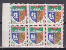 N° 1354A  Armoiries De Ville :Saint Denis De La Réunion: Bloc De 6 Timbres Neuf Impéccable - Nuovi