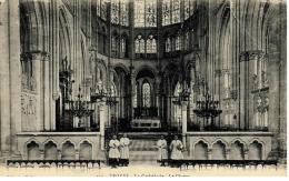 CPA - TROYES - La Cathédrale - Le Choeur - Troyes