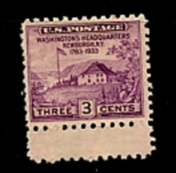 EE.UU.  AÑO 1933.  Sc 752 - Yv 319. (MH) - Ongebruikt
