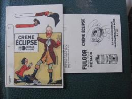 Carton à Découper - CADET ROUSSELLE - Illustration Marcel JEANJEAN - Pub FULGOR - CREME ECLIPSE - Reclame