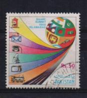 Pakistan 1988, SAARC Summit, Train, Telefone, Mailbox, Minr 734, Vfu. Cv 5,50 Euro