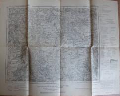 Detmold 333 - Karte Des Deutschen Reiches 1:100´000 - Herausgegeben Von Der Preussischen Landesaufnahme 1900 - Ausgabe 1 - Topographische Karten