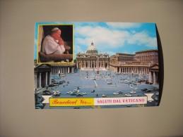 VATICAN BENEDICAT VOS...SALUTI DAL VATICANO GIOVANNI PAOLO II - Vatican