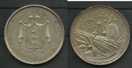 Landwirschaftliche Medaille Estland Ehstländischer Landwirtschaftlicher Verein - Souvenirmunten (elongated Coins)