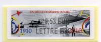 LISA 2/UN SIÈCLE DE MARINS DU CIEL 2010 - 2010-... Illustrated Franking Labels