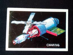 VERY RARE Small Calendar Collectibles 1988 SKYLAB - Calendriers