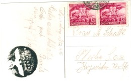 Dt. Reich 908 MEF Auf Postkarte Von Nürnberg Gebr. In Reutligen 1945 - Germania