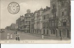 """MALO LES BAINS     La Digue   N.G 118  CACHET """" POSTES BUREAU FRONTIERE-N """" - Malo Les Bains"""