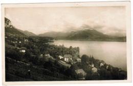 CPA Lac D'Annecy, Veyrier, Vue Générale Et Le Lac (pk30231) - Annecy