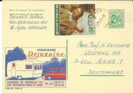Belgium,Belgique,postcard Motive - Automobile,caravanes,camping - Postcards [1951-..]