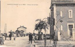 13-  LES-SAINTES- MARIES- DE-LA-MER - AVENUE DE LA GARE - Saintes Maries De La Mer