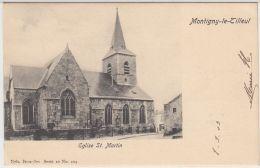 27081g  EGLISE ST. MARTIN - Montigny-le-Tilleul - 1903 - Montigny-le-Tilleul