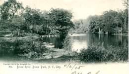 NEW YORK -- Bronx Park  River - Bronx