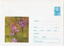 FLORA-L88 - RUSSIE Entier Postal Env. Illustrée Fleurs De Crocus - Toxic Plants