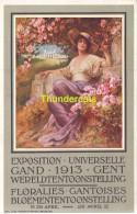 CPA EXPOSITION UNIVERSELLE GAND 1913 GENT WERELDTENTOONSTELLING LITHO DE RYCKER MENDEL BRUXELLES - Expositions