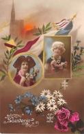 MILITARIA GUERRE 14 18 FANTAISIE PATRIOTIQUE ALSACE LORRAINE STRASBOURG - Weltkrieg 1914-18