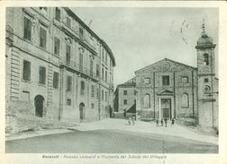 Recanati. Palazzo Leopardi E Piazzetta Del Sabato Del Villaggio. 467 - Macerata