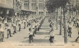 PASSY FROYENNES - La 3em Division à La Séance De Gymnastique. - Belgique