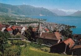 CHARDONNE : Vue Sur Vevey Et Le Lac Léman - VD Vaud