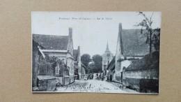 Cpa Dpt 62  - Fosseux ( Pas De Calais ) - Rue De L'eglise - Non Classés