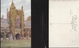 5830) OXFORD FOUNDER'S TOWER MAGDALEN COLLEGE NON VIAGGIATA 1920 CIRCA - Oxford
