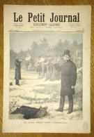 Le Petit Journal Du 07/01/1893 - Le Duel Déroulède Clémenceau - La Galette (A Propos De Le Fête Des Rois) - 1850 - 1899