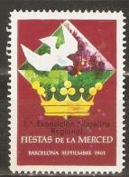 VIÑETA FIESTA DE LA MERCED 1961 - España