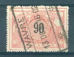 """BELGIE - OBP Nr TR 25 - Cachet  """"WAVRE"""" - (ref. AD-4712) - Chemins De Fer"""