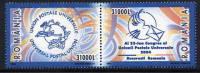 ROMANIA 2004 UPU Congress Pair  MNH / **.  Michel 5796-97 - 1948-.... Republics