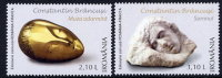 ROMANIA 2006 Constantin Brancusi Set Of 2 MNH / **.  Michel 6125-26 - 1948-.... Republics