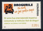 ROMANIA 2006 International Day Against Drugs  MNH / **.  Michel 6090 - 1948-.... Republics