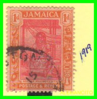 JAMAICA  -  SELLO  AÑO  - 1919 - Jamaica (1962-...)