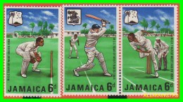 JAMAICA  -  SELLOS  AÑOS  - 1967   CRIEKKETTEAN. NUEVOS -SERIE - Jamaica (1962-...)