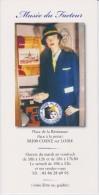 Brochure About Postal Museum In Cosne Sur Loire - Boeken, Tijdschriften, Stripverhalen