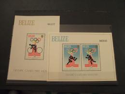 BELIZE - 2 BF1979 OLIMPIADI MOSCA - NUOVI(++) - Belize (1973-...)