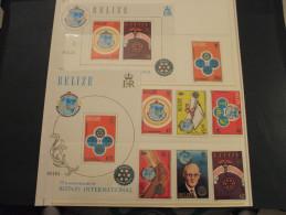 BELIZE - 1981 ROTARY 7 VALORI + 2 BF - NUOVI(++) - Belize (1973-...)