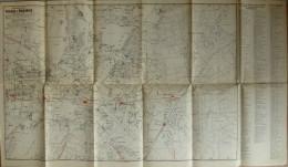 Pharus-Plan - Potsdam Und Babelsberg Stand Von 1938 - 1:17'000 Zweifarbig Mit Strassenverzeichnis - Verlag Der Potsdamer - Topographische Karten