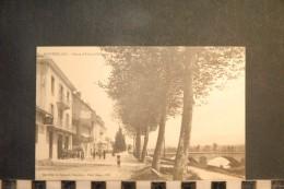 CP, 73, MONTMELIAN Route D'Albertville  N°576  Edition E Reynaud Dos Simple Precurseur - Montmelian