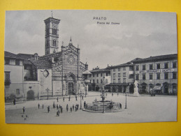 CPA Prato / Toscana (Italia) - Piazza Del Duomo - Prato