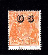 1932 - AUSTRALIA - O/FINE CANCELLED - KG V - OS OVERPRINT -Yv Srv 58  Mi Di 10