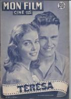 "Mon Film/Périodique/"" Térésa""/Zinneman/Métro-Goldwyn-Mayer/Pier ANGELI/john ERICSON/Odile VERSOIS/1951   CIN60 - Cine / Televisión"