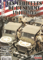VEHICULES US ARMY 1941 1945 MILITARY ARMOR MOTO JEEP AMPHIBIE ROUTIER TOUT TERRAIN SEMI REMORQUE - 1939-45