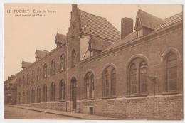 Cpa Le Tuquet (mouscron)  école - Mouscron - Möskrön