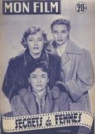 """Mon Film/Périodique/""""Secrets De Femmes""""/Wise/Warner Bros/El PARKER/P NEAL/R ROMAN/J. DESAILLY/1952   CIN61 - Cinéma/Télévision"""