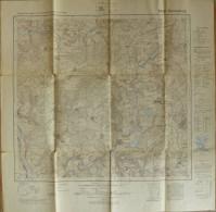 6439 Tännesberg - 1:25'000 - Herausgegeben Von Bayer. Landesvermessungsamt München 1937 Ausgabe 1954 - Topographische Karten