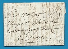 Cher - St Amand Pour Bourges - LAC De 1806 écrite à Culan - Marcophilie (Lettres)