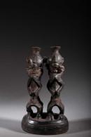 Art Africain Terre Cuite Mangbetu - Art Africain